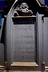 Sepultura de Georg Karl Maximilian Lohmann